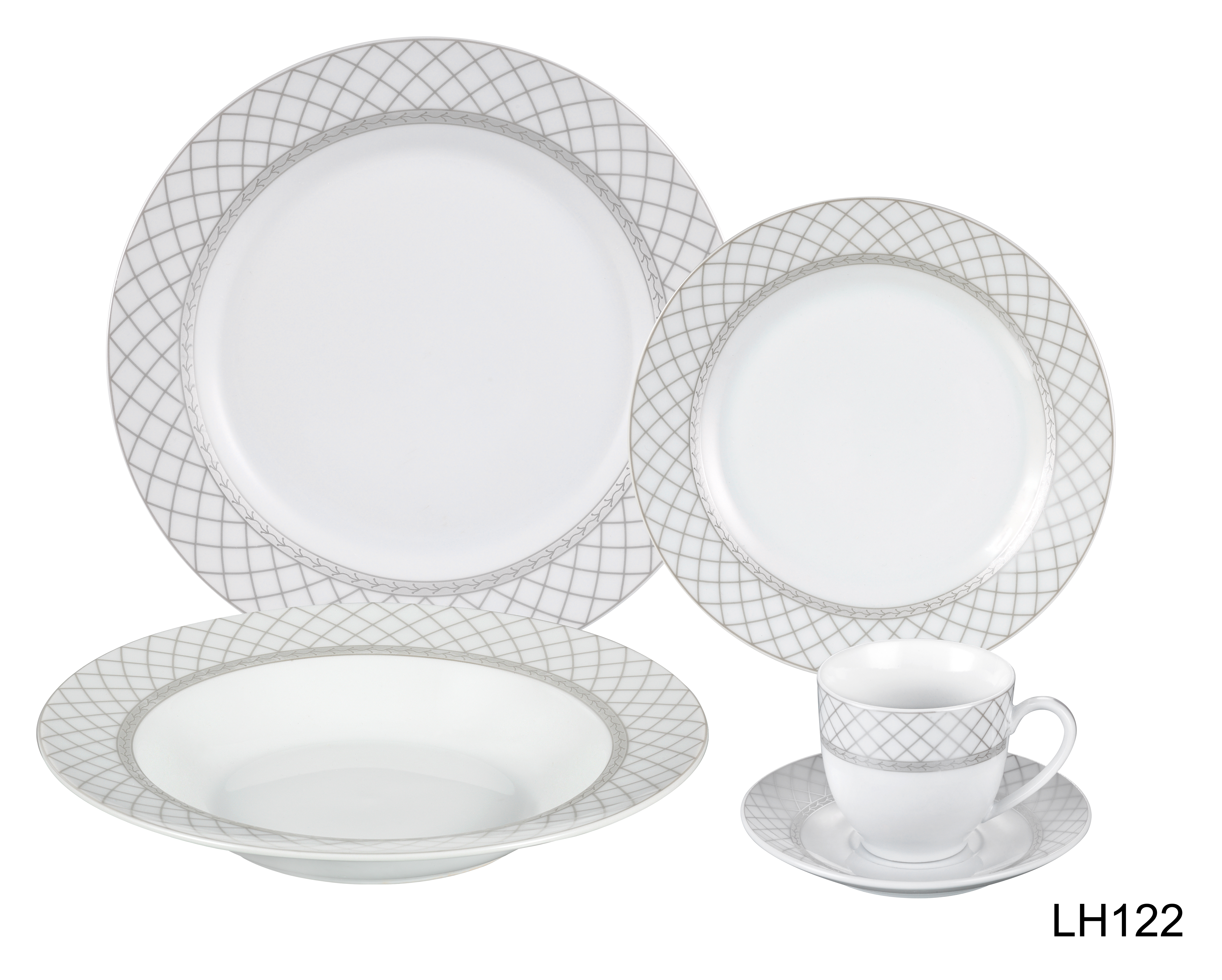 20 Piece Dinnerware